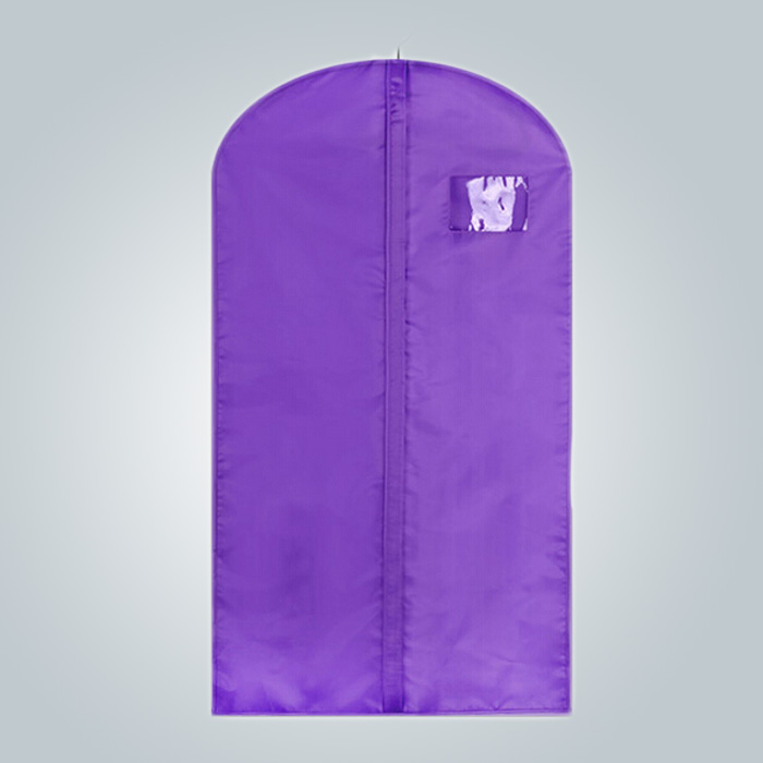 rayson nonwoven,ruixin,enviro-Wholesale Fabric Garment Packaging Bag with Name Card Window