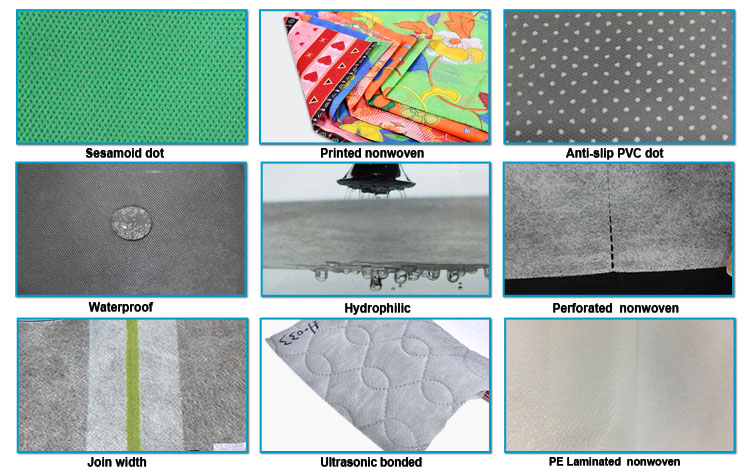 Wholesale textile hydrophobic pp spunbond nonwoven fabric manufacturers rayson nonwoven,ruixin,enviro Brand
