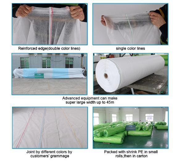 rayson nonwoven,ruixin,enviro-white extra width non woven landscape fabric-5