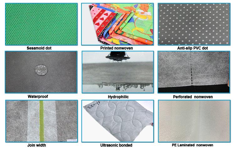 pp non woven fabric price soft color rayson nonwoven,ruixin,enviro