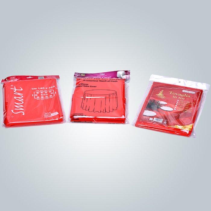 Multi / Panton couleurs Spunbond Non tissé nappes en tissu Tnt avec certificat OEKOTEX