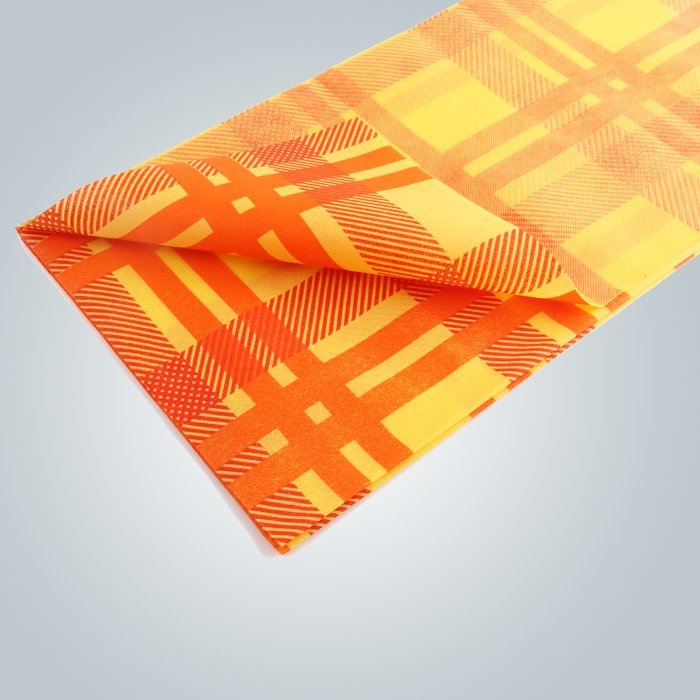 Printing STERILE Fabric Tablecloths Non Woven Tablecloth 45gsm 50gsm 70gsm
