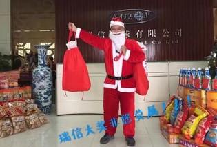 Mein erstes Treffen mit dem Weihnachtsmann