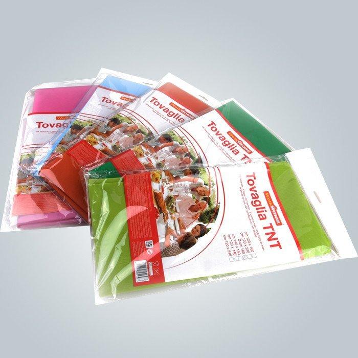50gsm nappe jetable de tnt en couleurs