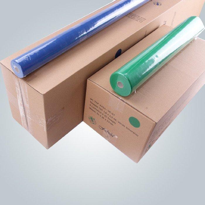 Non tissé nappe 110cm 100cm TNT toutes les couleurs emballer dans des cartons