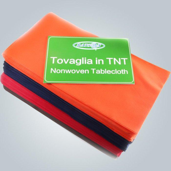 様々 な色の 45 Gsm を切る Tnt 使い捨てテーブル カバー
