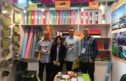 rayson nonwoven,ruixin,enviro-Amazing Customers Pay Cash To Order Rayson's New Products At Canton-5