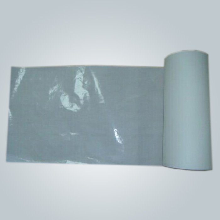 2 Layer PP / PE Laminated Waterproof Non woven Bedsheet Skin Friendly One Time Use