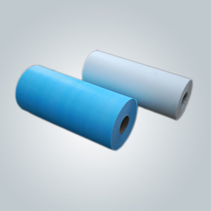Waterproof Nonwoven Disposable Bed Sheet Spunbond Non Woven Fabric Rolls