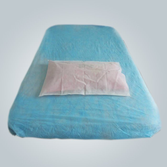 Blue Color Soft Disposable Medical Duvet Cover With Air Permeability
