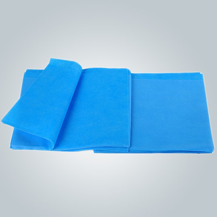 Green  hydrophobic non woven fabric is made in small   roll