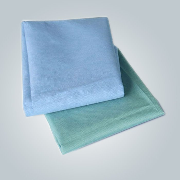 OEM Custom Packaging SMS Nonwoven Bedsheet For Medical Use