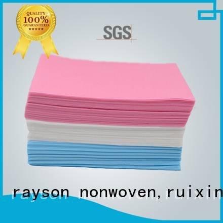rayson nonwoven,ruixin,enviro Brand pillowcases gr non woven factory