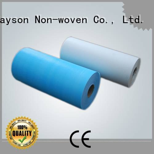 non woven factory table healthy Warranty rayson nonwoven,ruixin,enviro