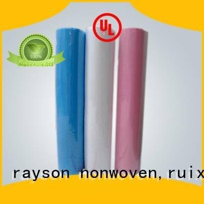 rolls care rayson nonwoven,ruixin,enviro Brand non woven factory factory