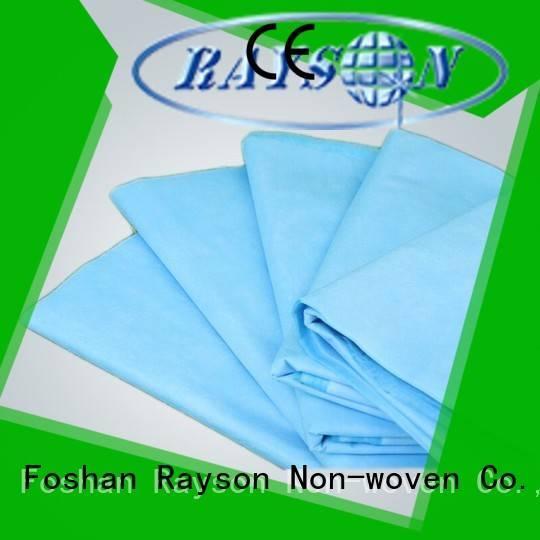 Custom hydrophilic non woven fabric wholesale clothes rayson nonwoven,ruixin,enviro