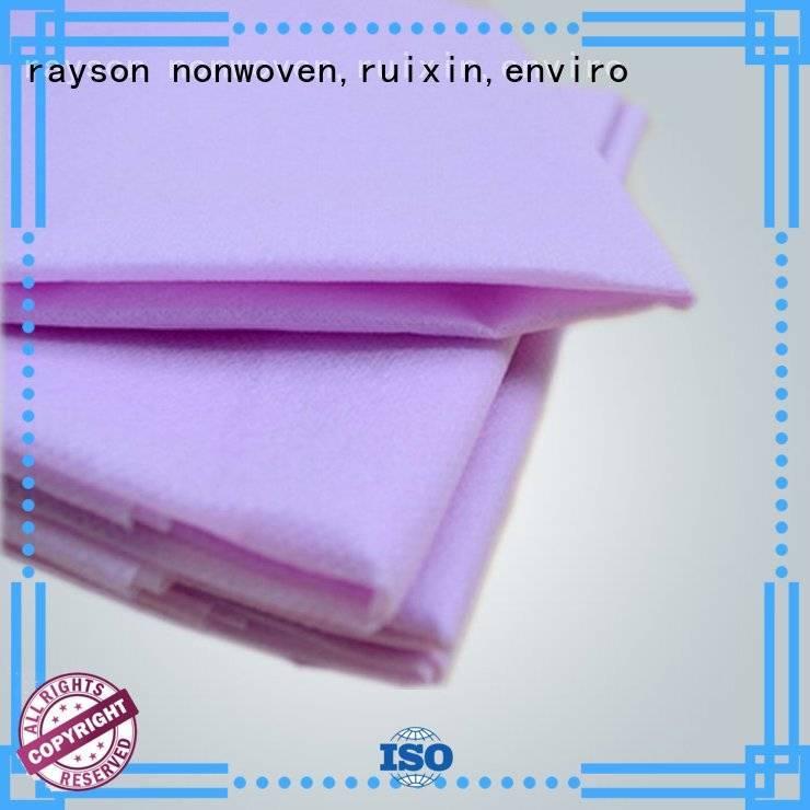non woven factory eco rayson nonwoven,ruixin,enviro Brand non woven fabric wholesale
