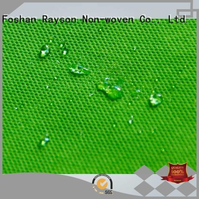Wholesale small made pp spunbond nonwoven fabric manufacturers rayson nonwoven,ruixin,enviro Brand