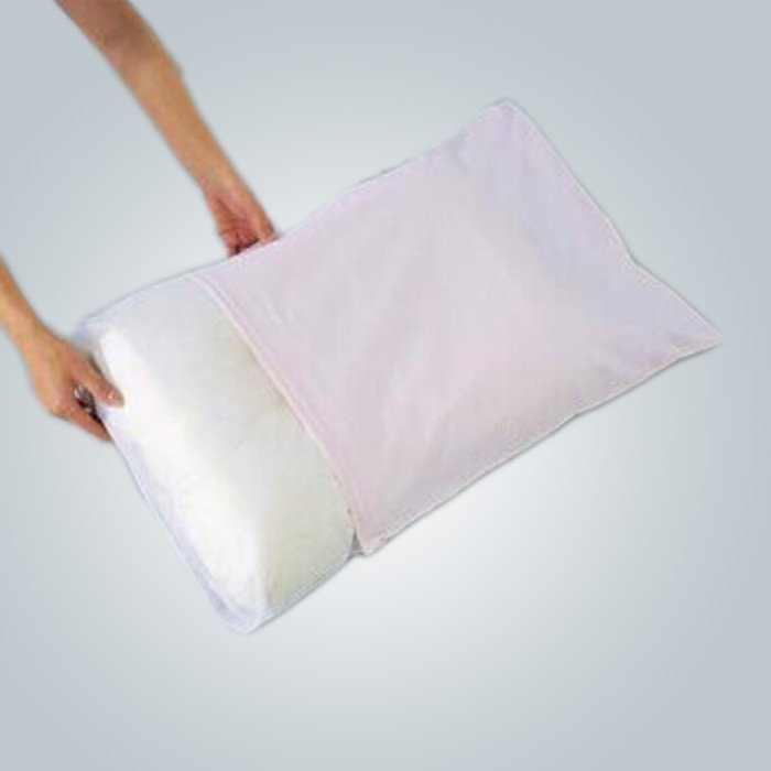 Household Disposable Nonwoven Pillow Cases Dust - proof and Antifouling
