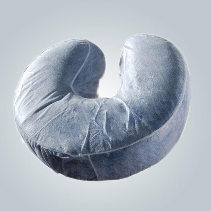 U- - shaped descartáveis travesseiro Slip confortável pescoço guarda não tecido travesseiro cobrir