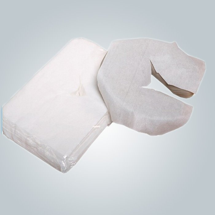 U- shaped Disposable Pillow Slip Comfortable Neck Guard Nonwoven Pillow Cover