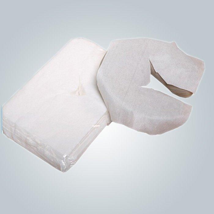 U- shaped Disposable Pillow Slip Comfortable Neck Guard Nonwoven Pillow Cover