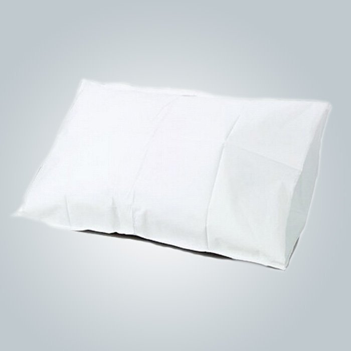 High Quality White Health Care Nonwoven Fabric Pillow Cover For Memory Foam Massage Pillow