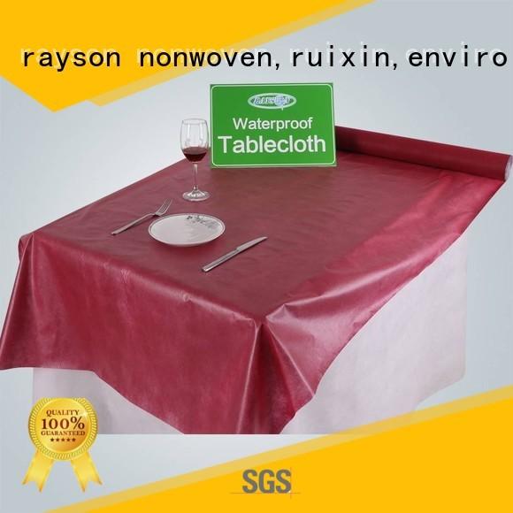 roll dinning non woven cloth mx14 38g rayson nonwoven,ruixin,enviro Brand
