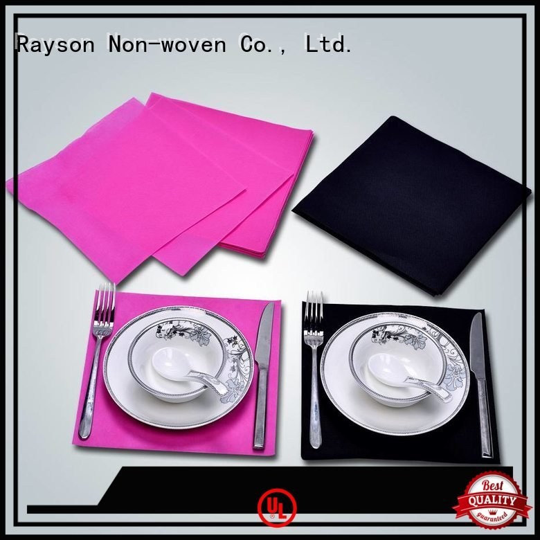 gsm tablecloth or rayson nonwoven,ruixin,enviro non woven tablecloth