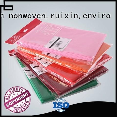 printing different rayson nonwoven,ruixin,enviro Brand non woven cloth factory