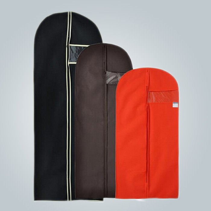 Recyclable Fashion Style Nonwoven Handle Garment Bag With All Color