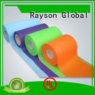 rayson nonwoven,ruixin,enviro Brand cloth stable spun custom nonwovens companies