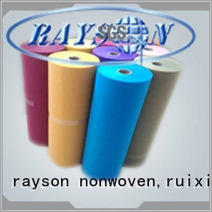 Wholesale over low non woven fabric wholesale rayson nonwoven,ruixin,enviro Brand