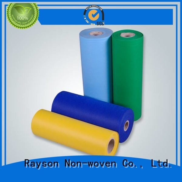 rayson nonwoven,ruixin,enviro Brand suppliersspunbond 9150grsm² bags non woven weed control fabric elogation