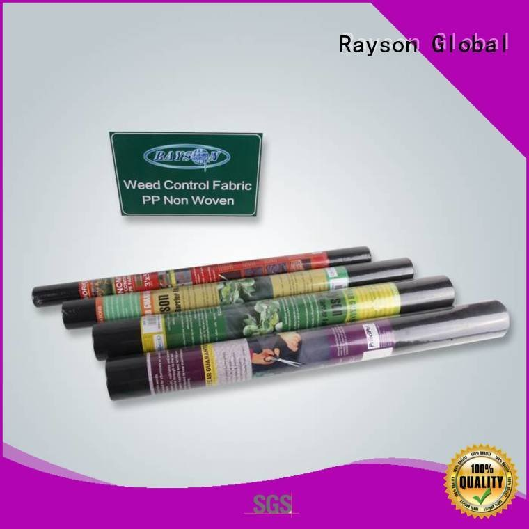 rayson nonwoven,ruixin,enviro floral extra biodegradable landscape fabric clothing matground