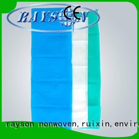 non woven factory products standard rayson nonwoven,ruixin,enviro Brand