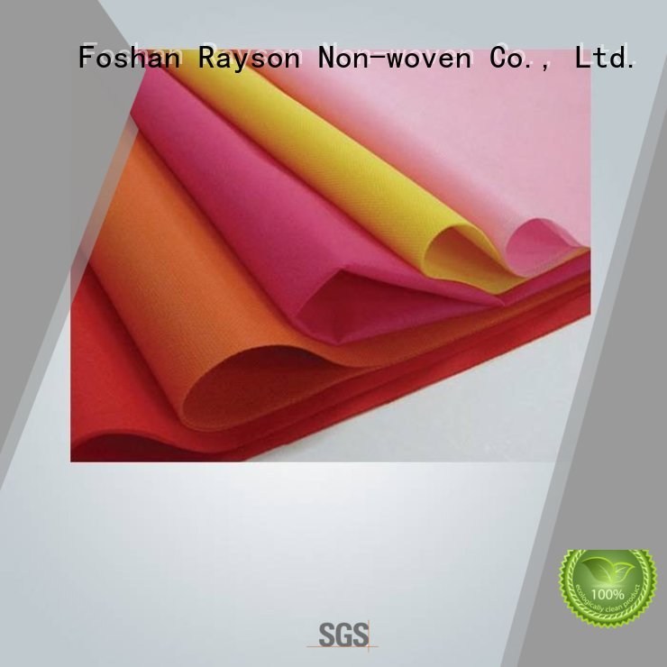 manufacturerspun materical processed rayson nonwoven,ruixin,enviro Brand non woven weed control fabric supplier