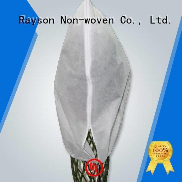 rayson nonwoven,ruixin,enviro spundbond biodegradable landscape fabric pupular black