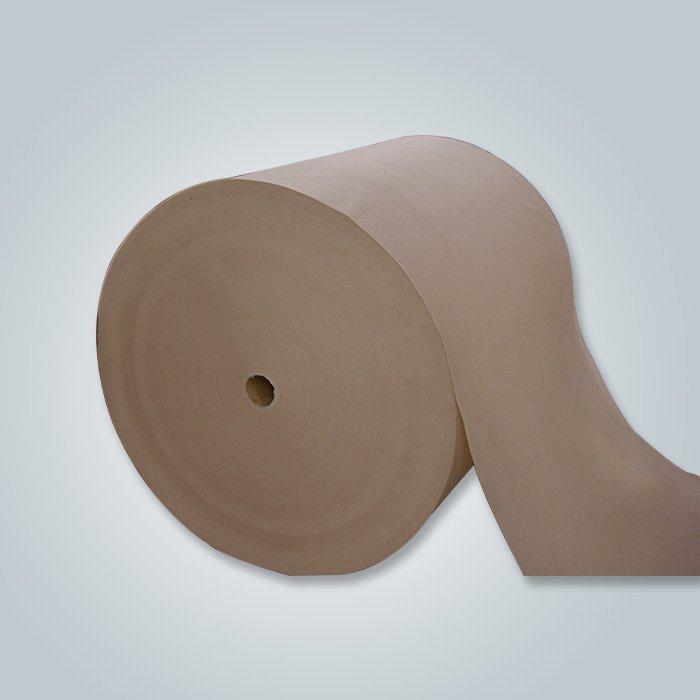 Tissu non-tissé ignifuge, pp non tissé, filé servile de tissu non tissé