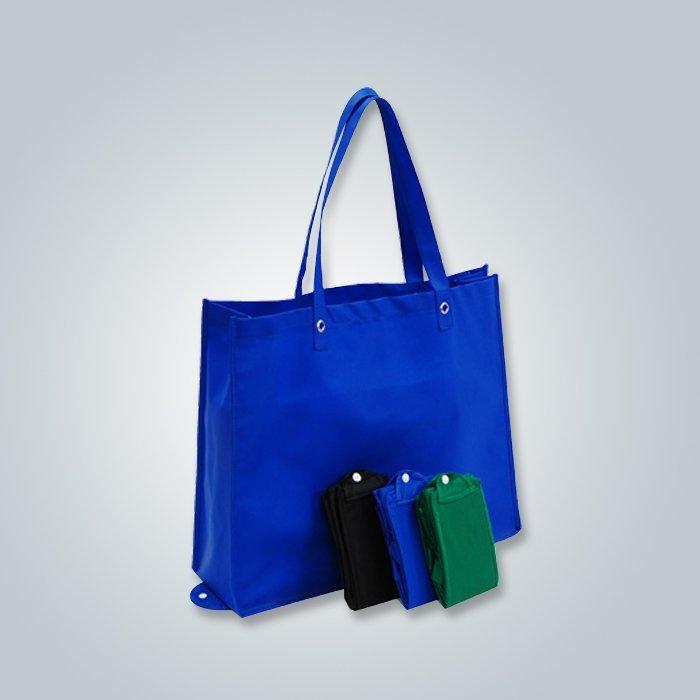 Składana torba włóknina jest wykonane przez pp włókniny fabirc