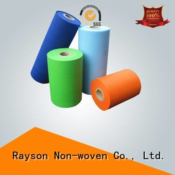 rayson nonwoven,ruixin,enviro non woven weed control fabric companies pp flower making