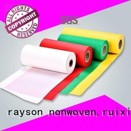 rayson nonwoven,ruixin,enviro width non woven weed control fabric purple breathable