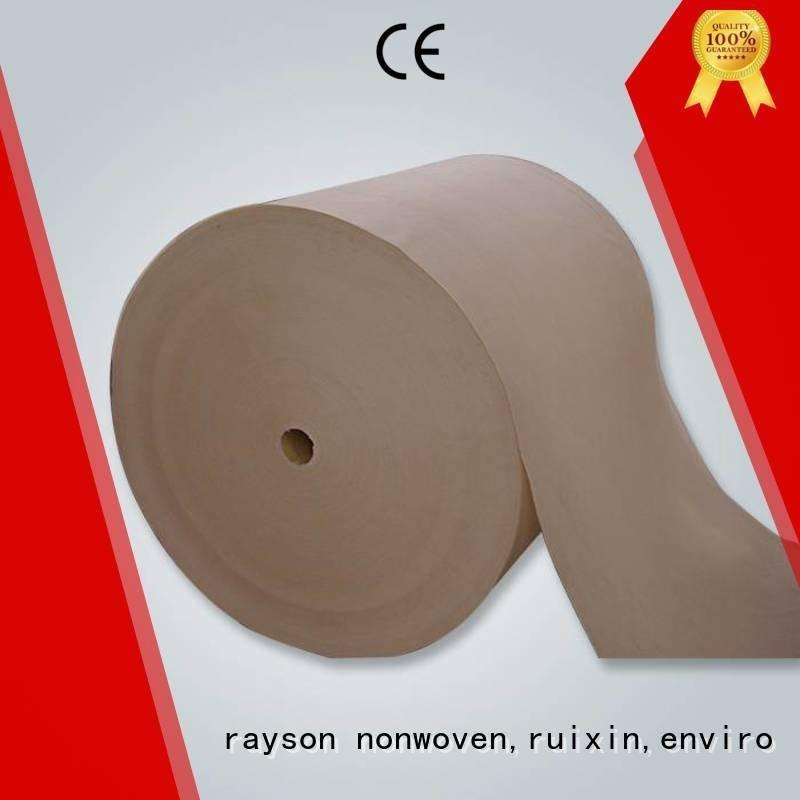 rayson nonwoven,ruixin,enviro Brand elongation cloth nonwovens companies hydrophobic hot
