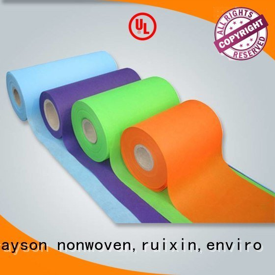 Hot nonwovens companies and non woven weed control fabric importer rayson nonwoven,ruixin,enviro