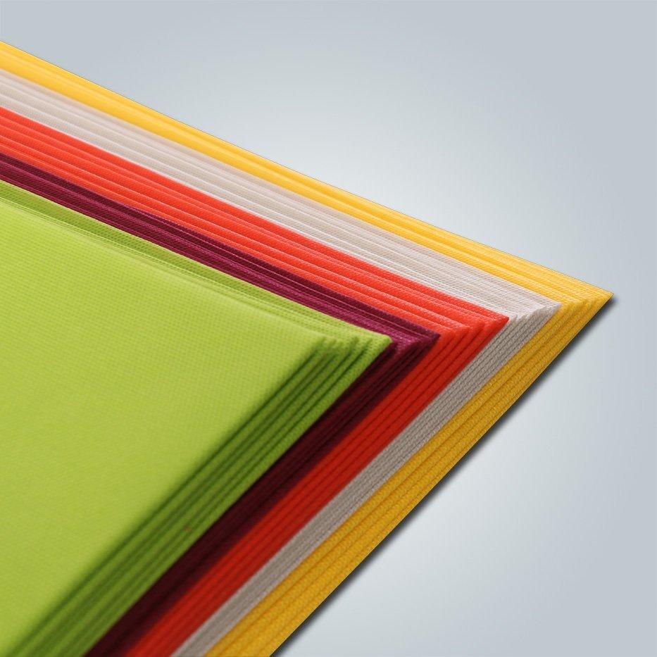 Recyclable Non Slip PVC Dot Anti Skid Fabric in Nonwoven