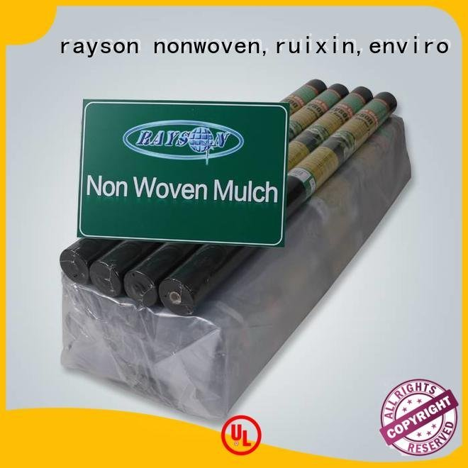 weed control landscape fabric reinforced brand OEM biodegradable landscape fabric rayson nonwoven,ruixin,enviro