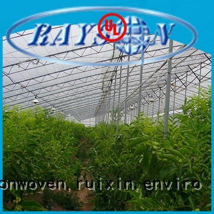 weed control landscape fabric applicator jointed biodegradable landscape fabric rayson nonwoven,ruixin,enviro Brand