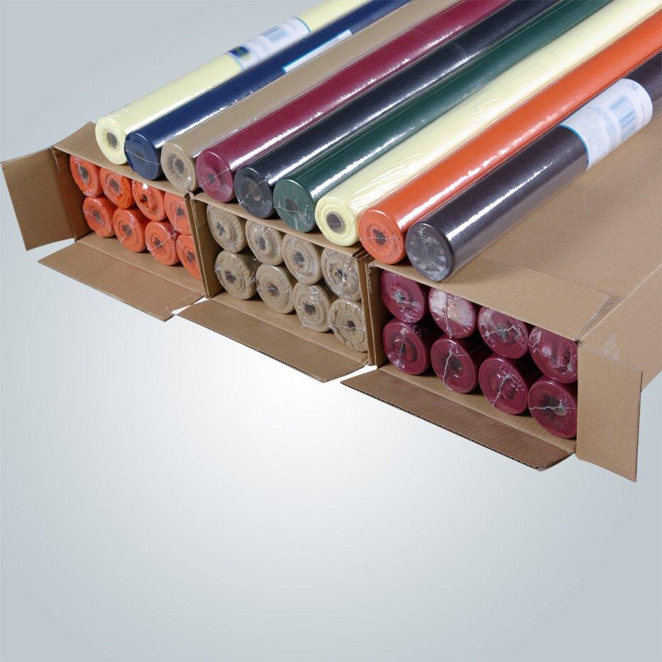 Toalha de mesa polipropileno, caminhos de mesa, fábrica de pano de mesa