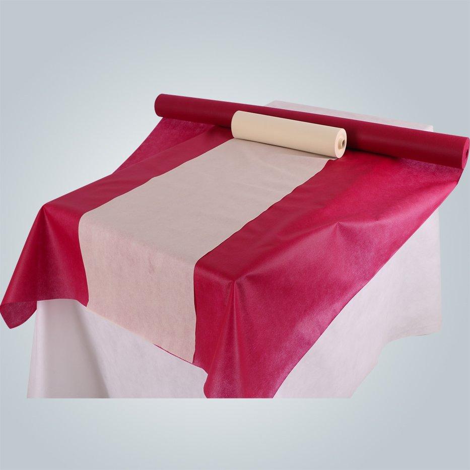PP geotêxtil não tecido China fábrica feita banquete usar toalha de mesa