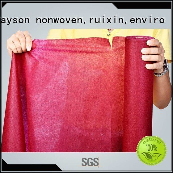 many perforate grey rayson nonwoven,ruixin,enviro non woven bag printing machine